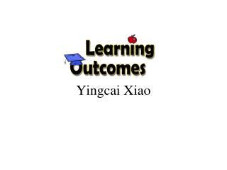 Yingcai  Xiao