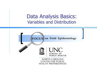 Data Analysis Basics: Variables and Distribution