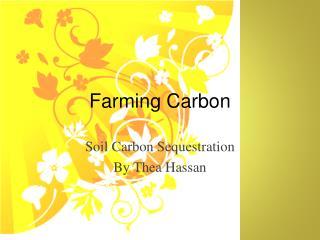 Farming Carbon