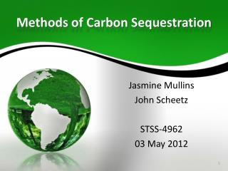 Methods of Carbon Sequestration