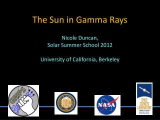 The Sun in Gamma Rays