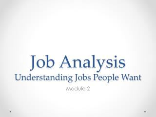 understanding job analysis A job hazard analysis is a technique that focuses on job tasks as a way to identify hazards before they occur it focuses on the relationship between the worker, the task.