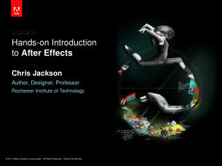 Hands-on Introduction to  After Effects