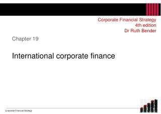 Chapter 19 International corporate finance