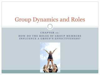 Group Dynamics and Roles