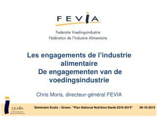 """Séminaire Ecolo  –  Groen : """"Plan National Nutrition-Santé 2010-2015""""        08-10-2010"""
