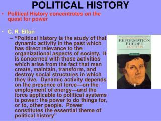 POLITICAL HISTORY