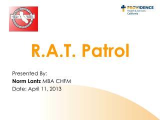 R.A.T. Patrol