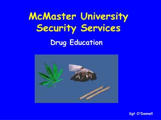 McMaster University Security Services