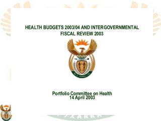 Health budgets