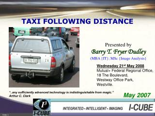 TAXI FOLLOWING DISTANCE