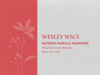 Wesley WSCS