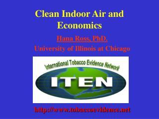 Clean Indoor Air and Economics