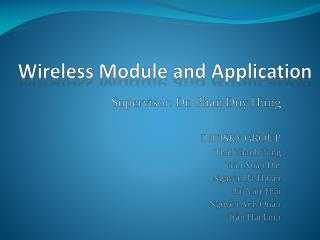 Wireless Module and Application