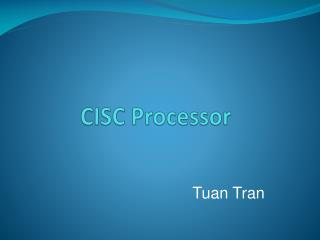 CISC Processor