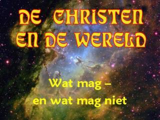 WAT IS JE BASIS ? � Heel de Schrift is  door God ingegeven en is nuttig voor 1.  het  onderrichten