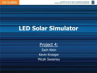 LED Solar Simulator