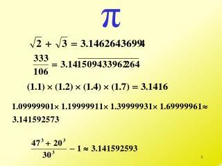 4 – Duplication, Trisection, Quadrature and   .
