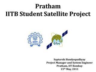 Pratham IITB Student  Satellite Project