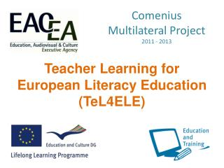 Comenius Multilateral Project 2011 - 2013