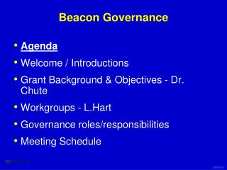 Beacon Governance