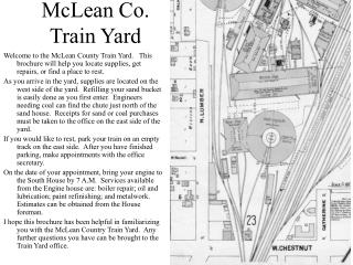 McLean Co. Train Yard