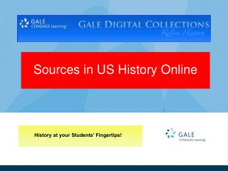 Sources in US History Online