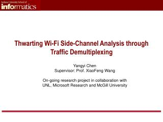Thwarting Wi-Fi Side-Channel Analysis through Traffic Demultiplexing