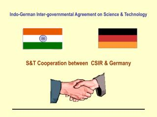 Indo-German Inter-governmental Agreement on Science & Technology