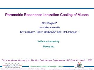 Parametric Resonance Ionization Cooling of Muons