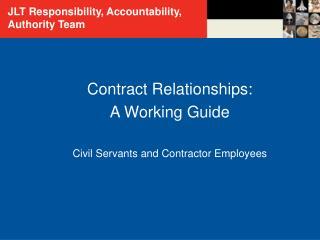 JLT Responsibility, Accountability, Authority Team
