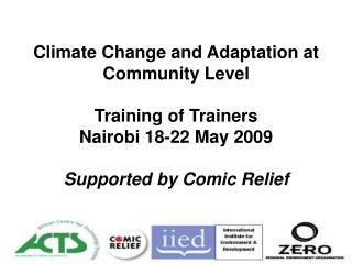 Session 1.3  Introduction to Climate Change   Terry Cannon, IIED