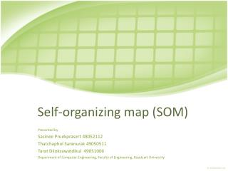 Self-organizing map (SOM)
