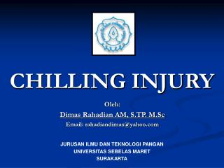CHILLING INJURY