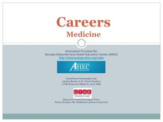 Careers   Medicine