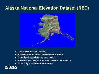 Alaska National Elevation Dataset (NED)