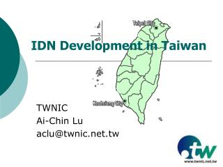 IDN Development in Taiwan