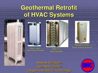 Geothermal Retrofit  of HVAC Systems