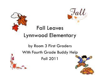 Fall  Leaves Lynnwood Elementary
