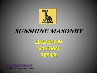 SUNSHINE MASONRY