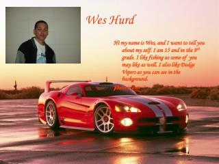Wes Hurd