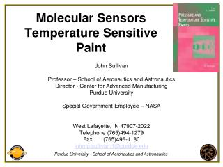 Molecular Sensors Temperature Sensitive Paint