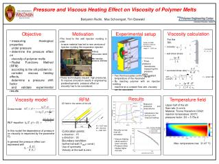Pressure and Viscous Heating Effect on Viscosity of Polymer Melts
