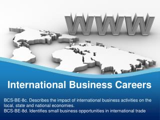 International Business Careers