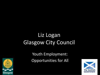 Liz Logan Glasgow City Council