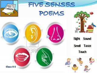 FIVE SENSES POEMS