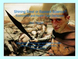 Shining Steel or Bastard Science?