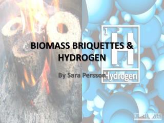 BIOMASS BRIQUETTES & HYDROGEN