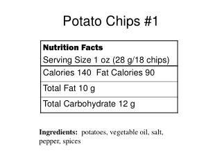 Potato Chips #1