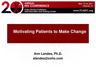 Motivating Patients to Make Change